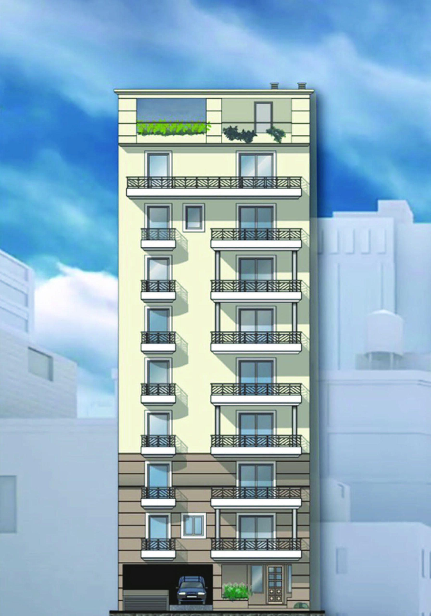 Residential development, Nikaia